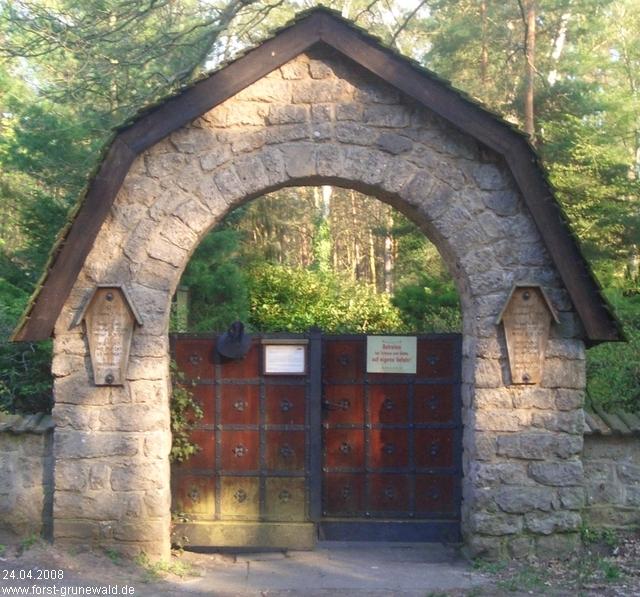 Resultado de imagen de cementerio grunewald